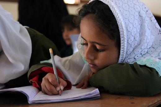 Educate a girl and you educate a community