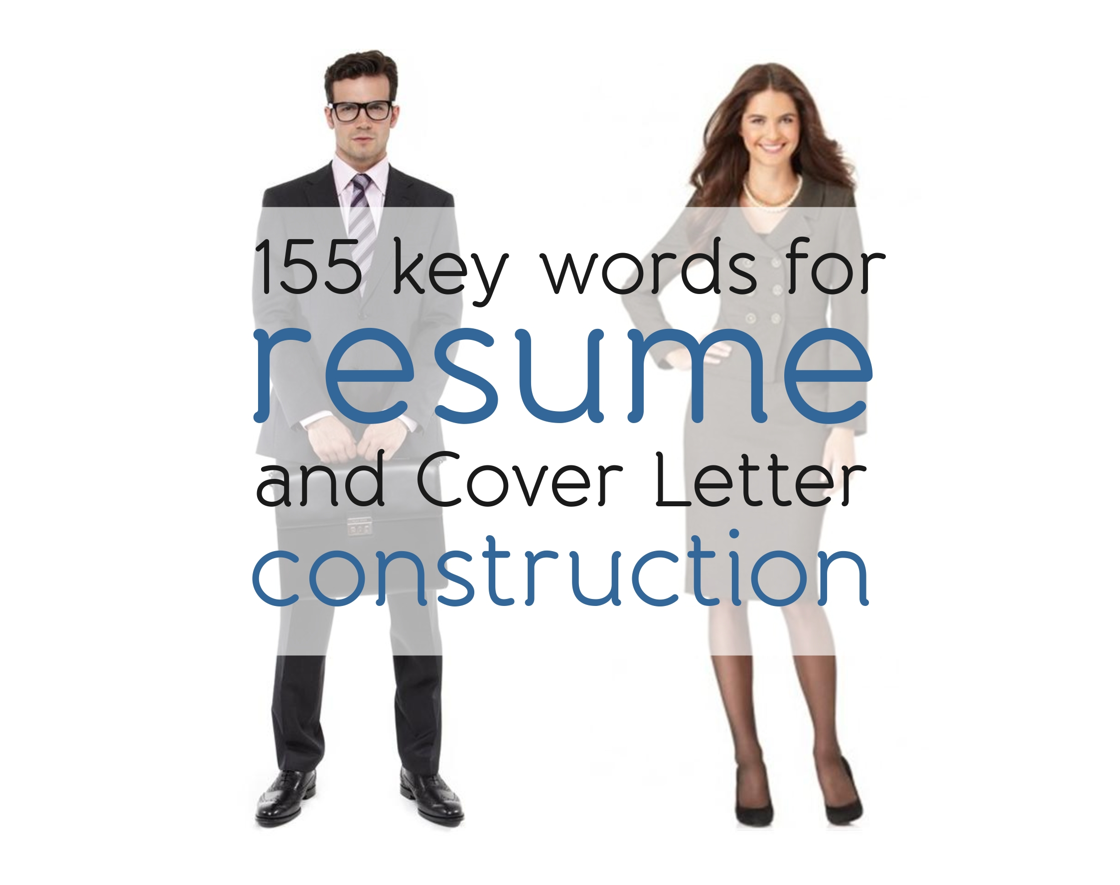 155 Key Words For Resume And Cover Letter Construction Just English