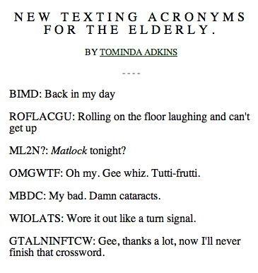Text message abbreviations smh